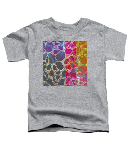 Cell Abstract 11 Toddler T-Shirt by Edward Fielding