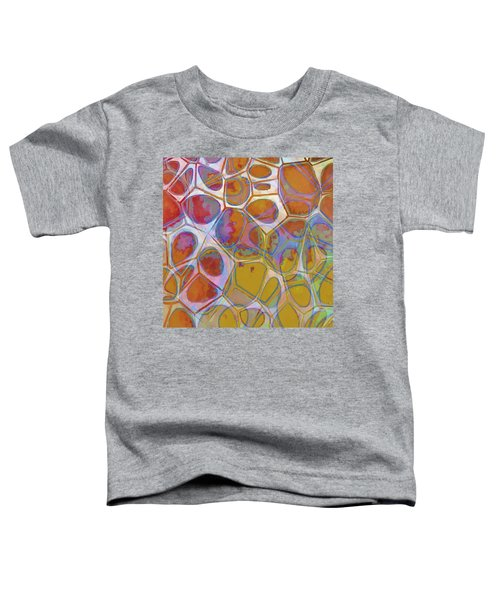 Cell Abstract 14 Toddler T-Shirt by Edward Fielding