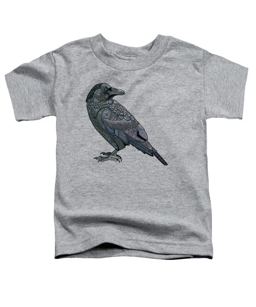 Celtic Raven Toddler T-Shirt by ZH Field