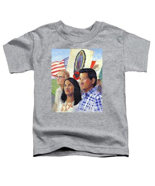 Cesar Chavez And La Causa Toddler T-Shirt