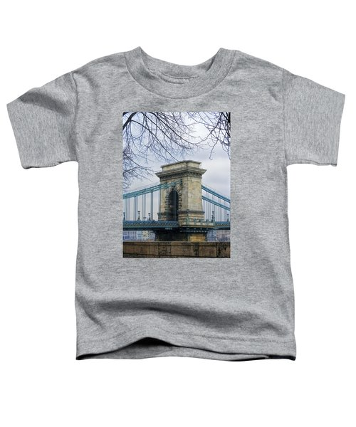 Chain Bridge Pier Toddler T-Shirt