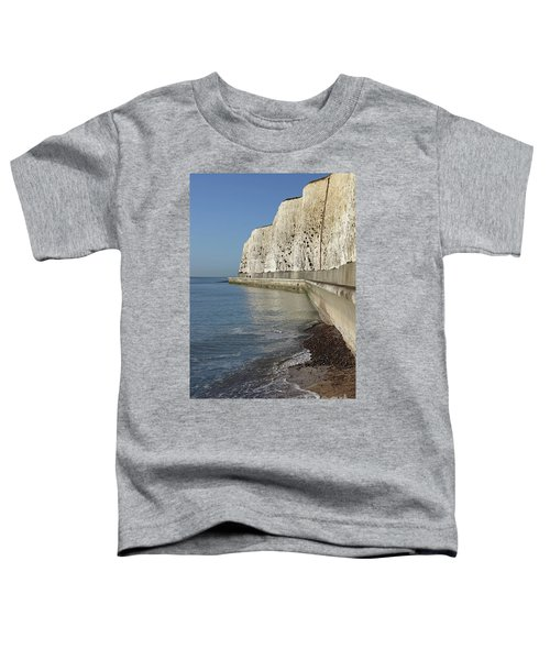 Chalk Cliffs At Peacehaven East Sussex England Uk Toddler T-Shirt