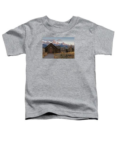 Chapel Of The Transfiguration - II Toddler T-Shirt by Gary Lengyel