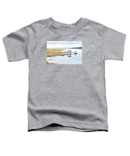 Chechessee Creek Dock Toddler T-Shirt