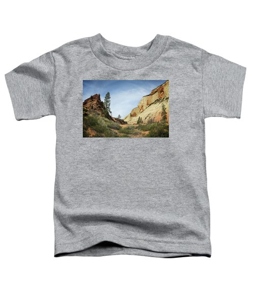 Checkerboard Mesa Toddler T-Shirt
