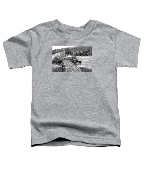 Checking The Rails Toddler T-Shirt