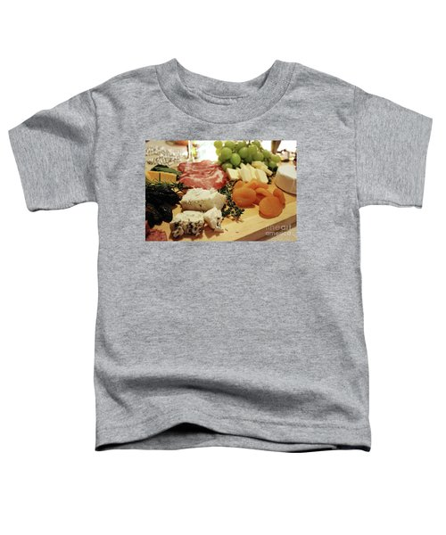 Cheese And Meat Toddler T-Shirt