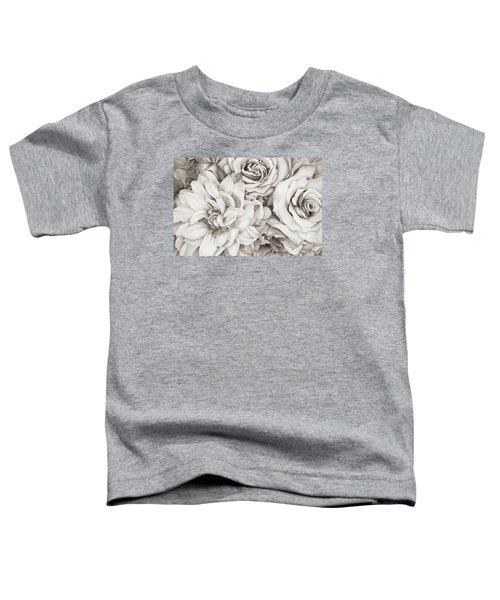 Chelsea's Bouquet - Neutral Toddler T-Shirt