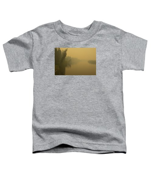 Chena River Toddler T-Shirt by Gary Lengyel