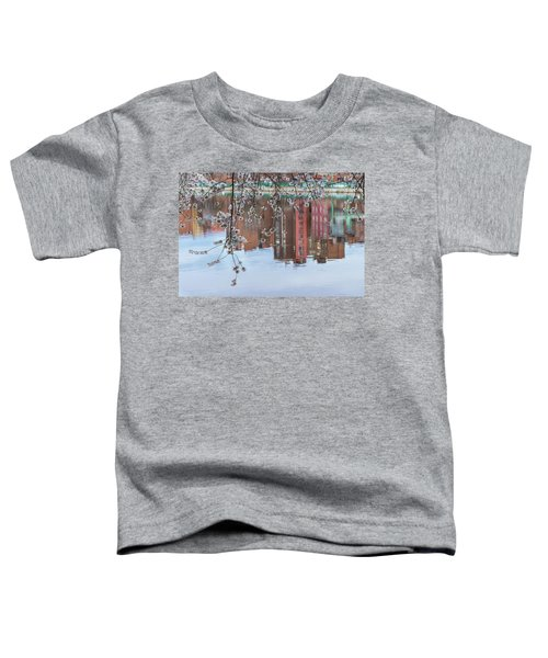 Cherry Blossom Reflections Toddler T-Shirt