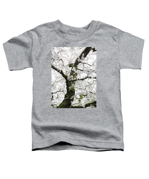 Toddler T-Shirt featuring the photograph Cherry Blossoms 119 by Peter Simmons