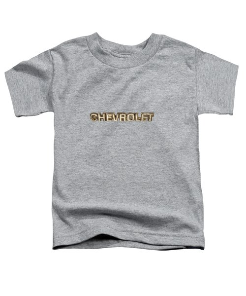 Chevrolet Chrome Emblem Toddler T-Shirt