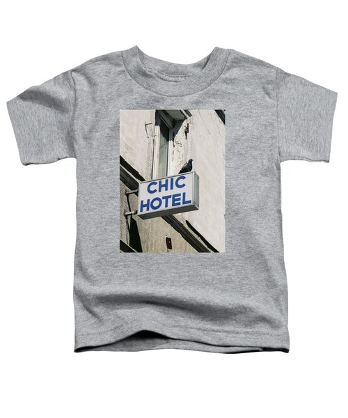 Chic Hotel Toddler T-Shirt