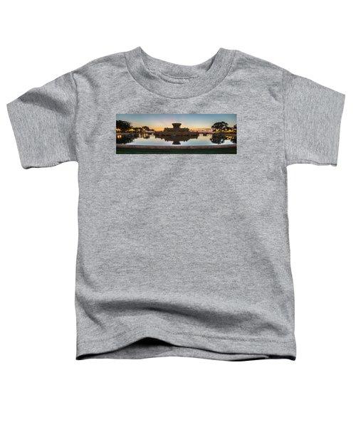Chicago's Buckingham Fountain At Dawn  Toddler T-Shirt