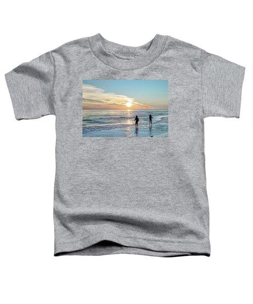 Children At Play On A Florida Beach  Toddler T-Shirt