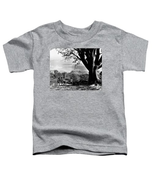 Children Of Central Highland Are Playing With A Dog Toddler T-Shirt