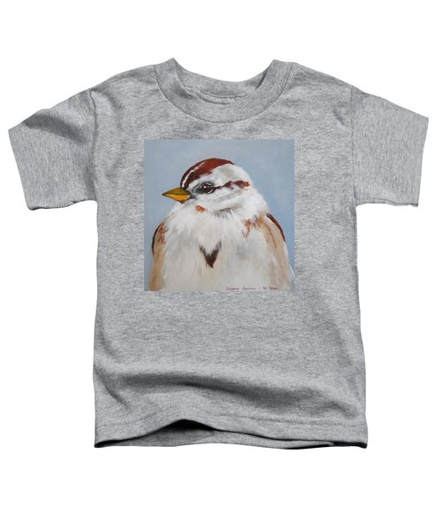 Chipping Sparrow Toddler T-Shirt