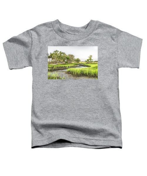 Chisolm Island - Low Tide Toddler T-Shirt