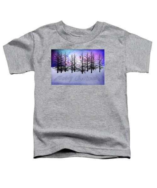 Christmas Bare Trees Toddler T-Shirt