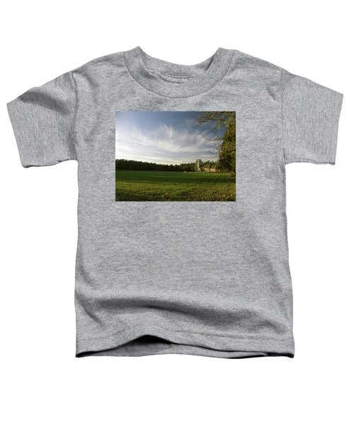 Church On The Edge Of A Forest Toddler T-Shirt