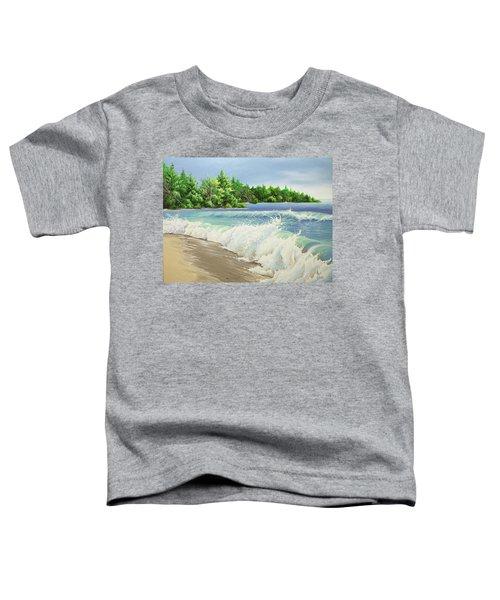 Churning Sand  Toddler T-Shirt