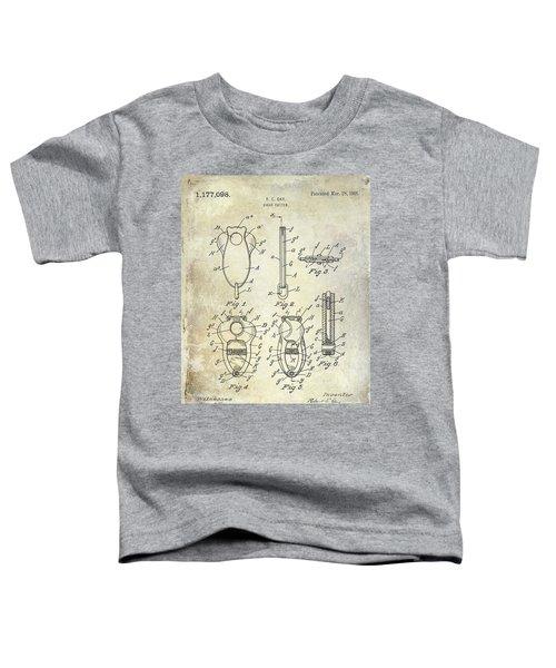 Cigar Cutter Patent 1916 Toddler T-Shirt