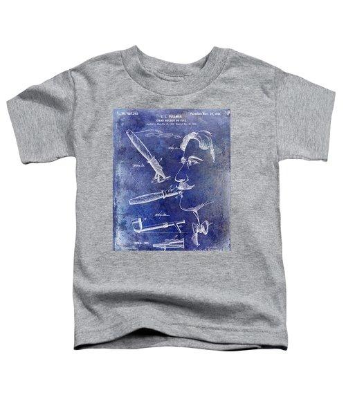 Cigar Patent 1901 Blue Toddler T-Shirt