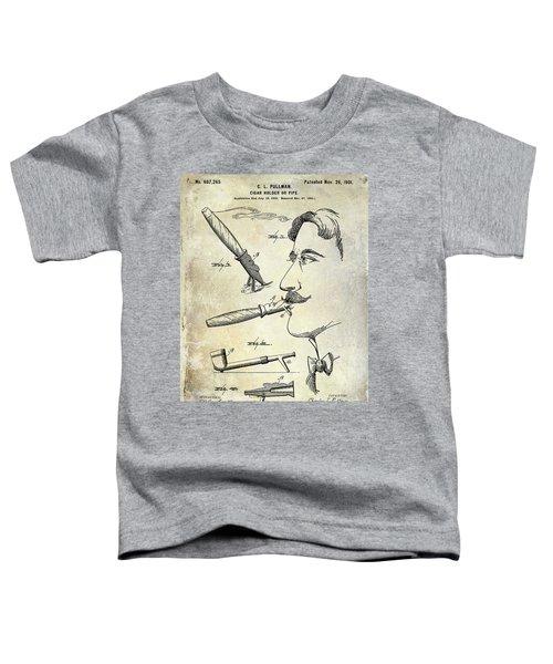 Cigar Patent 1901 Toddler T-Shirt