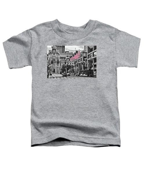 City Of Brotherly Love - Philadelphia Toddler T-Shirt