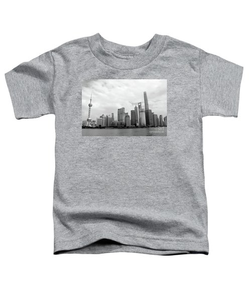 Toddler T-Shirt featuring the photograph City Skyline by MGL Meiklejohn Graphics Licensing