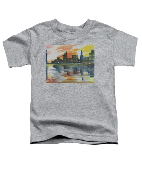 Cityscape Toddler T-Shirt