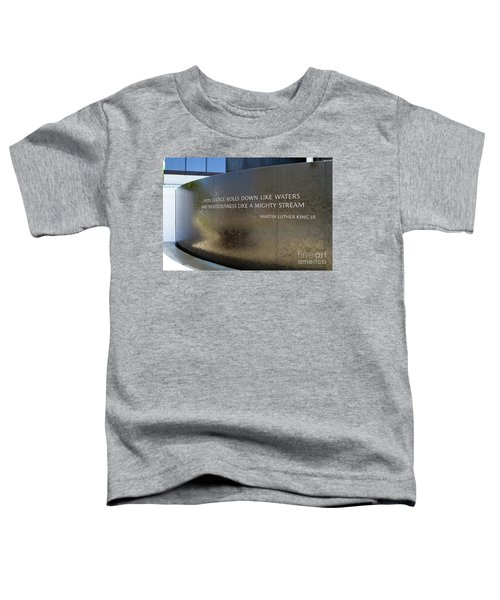Civil Rights Memorial Toddler T-Shirt