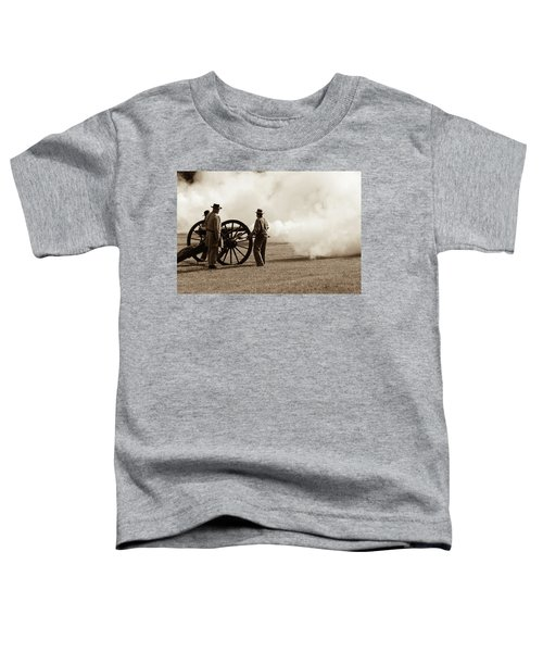 Civil War Era Cannon Firing  Toddler T-Shirt
