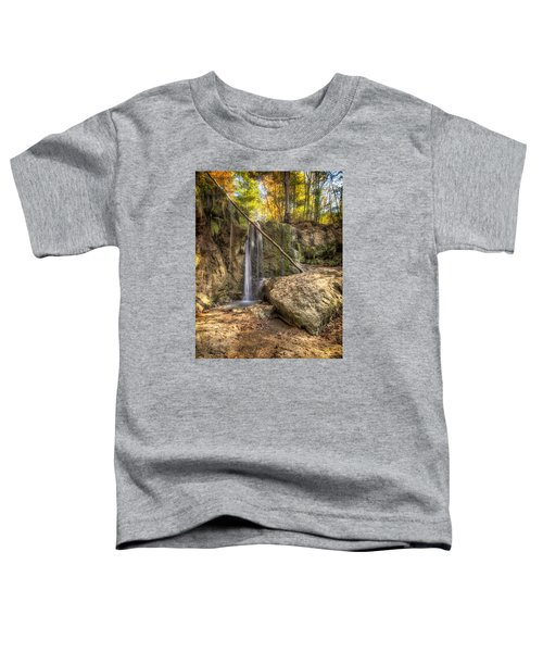 Clark Creek Nature Area Waterfall No. 1 Toddler T-Shirt