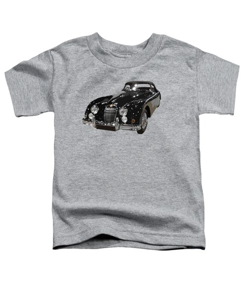 Classic Jaguar In Black Art Toddler T-Shirt