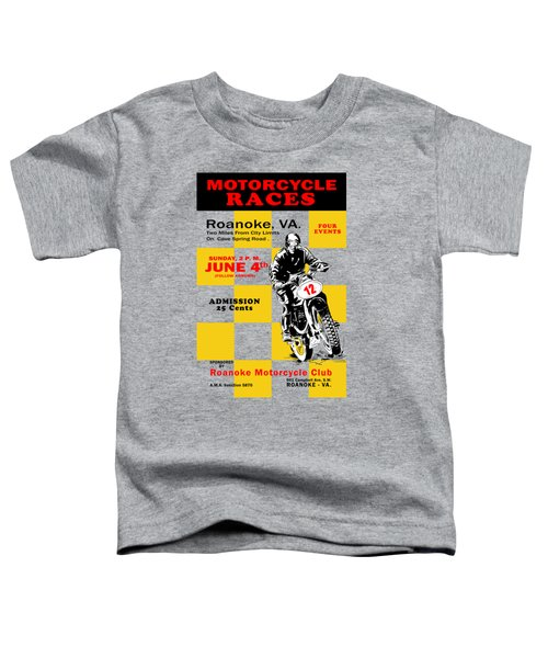 Classic Motorcycle Races Roanoke Virginia Toddler T-Shirt