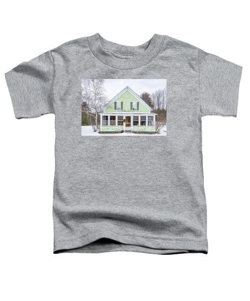Classic New Englander Home Toddler T-Shirt