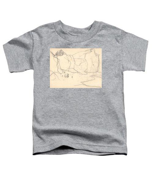 Cliffs Near Pourville-varengeville Toddler T-Shirt