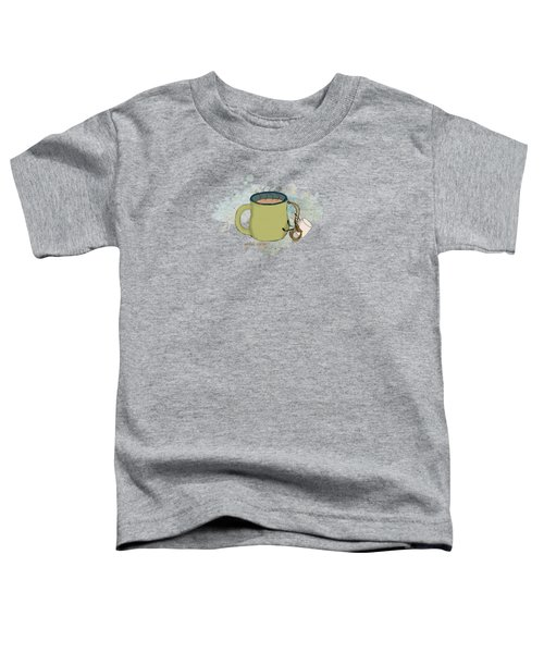 Climbing Mt Cocoa Illustrated Toddler T-Shirt by Heather Applegate