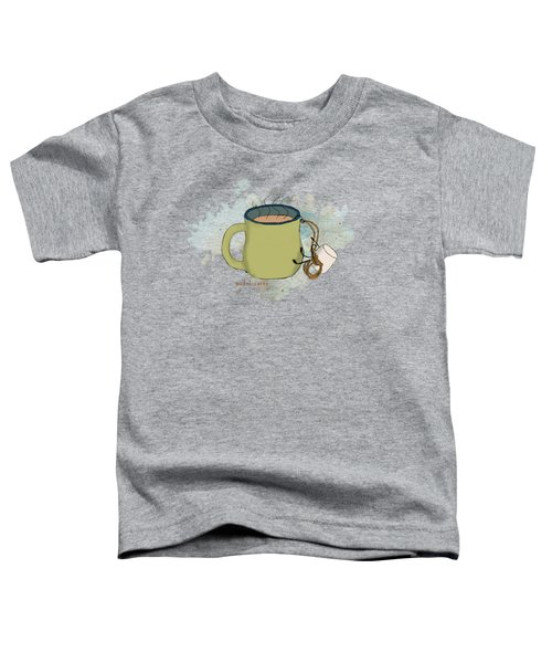 Climbing Mt Cocoa Illustrated Toddler T-Shirt