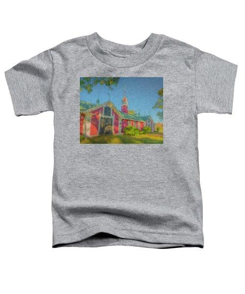 David Ames Clock Farm Toddler T-Shirt