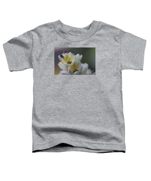 Close-up Of White Freesia Toddler T-Shirt