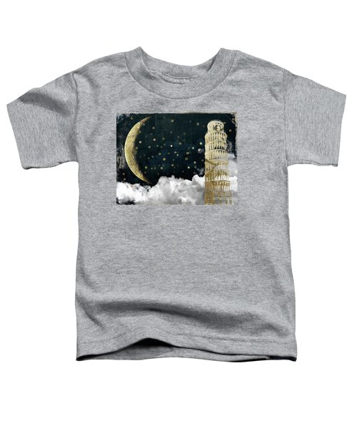 Cloud Cities Pisa Italy Toddler T-Shirt by Mindy Sommers