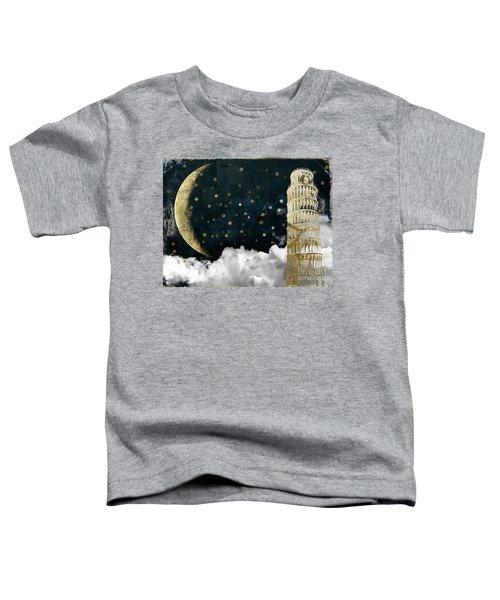 Cloud Cities Pisa Italy Toddler T-Shirt