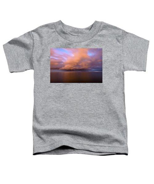 Cloud Motion At Dawn  Toddler T-Shirt
