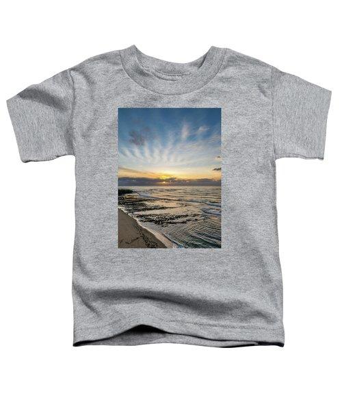 Cloud Rays Vertical Toddler T-Shirt