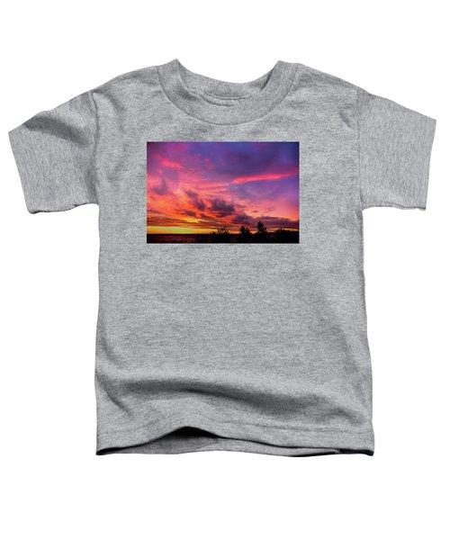 Clouds At Sunset Toddler T-Shirt