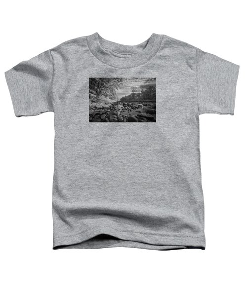 Clouds Over The River Rocks Toddler T-Shirt