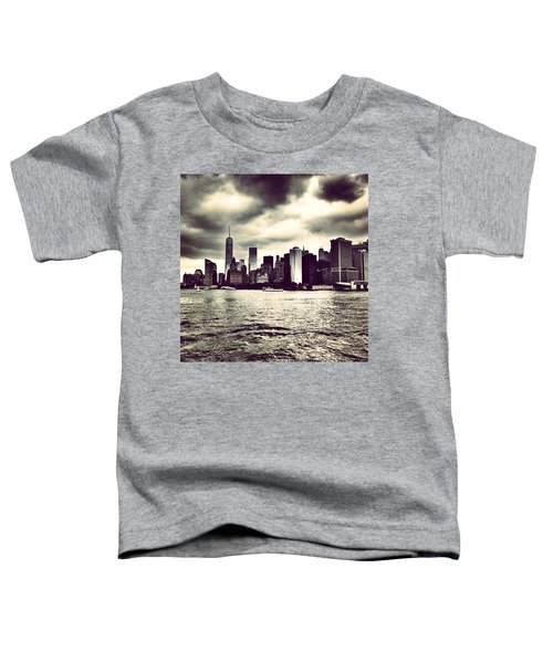 Cloudy Day In #nyc Toddler T-Shirt
