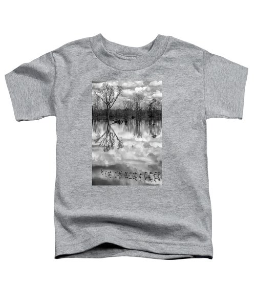 Cloudy Reflection Toddler T-Shirt